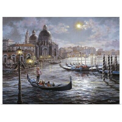 Poster Print Wall Art entitled Grand Canal Venice