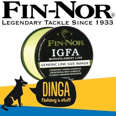 Fin-Nor IGFA Monofilament Fishing Line 10Kg 1200Yd Yellow