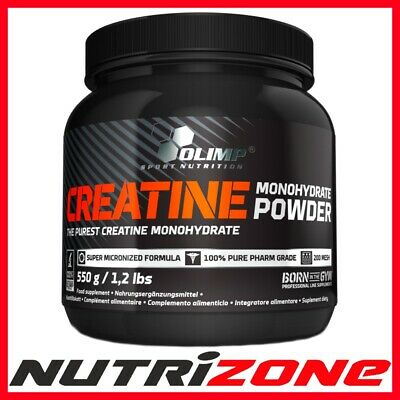 OLIMP CREATINE MONOHYDRATE Pure Micronized Formula Strength 550g Powder