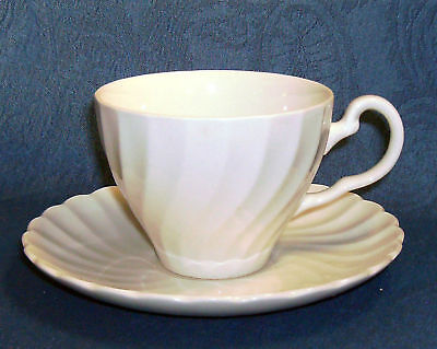 Johnson Brothers England White REGENCY Cup & Saucer