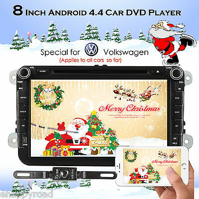 Android 4.4 Car DVD Player Multimedia System For VW B6 CADDY PASSAT SAGITAR GOLF