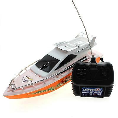 Battery Operated Small Size Remote Control 4 Channel Patrol Craft RC Speed Boat