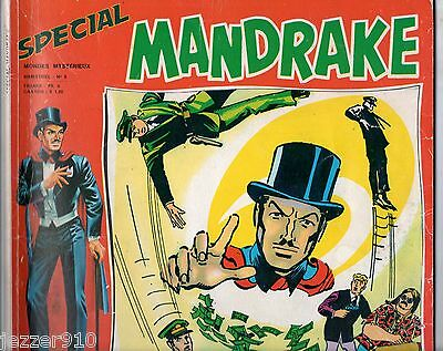 SPECIAL MANDRAKE n°5  ~+~  MONDES MYSTERIEUX ~+~ 1974 ED REMPARTS
