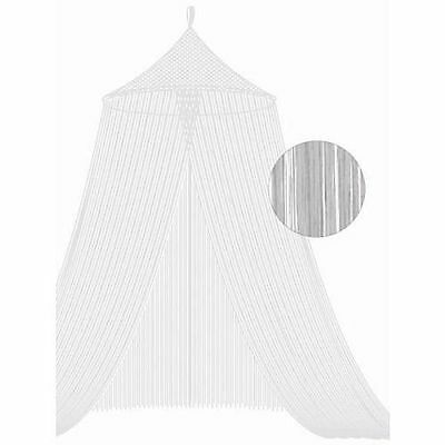 Bacati White String Bed Canopy