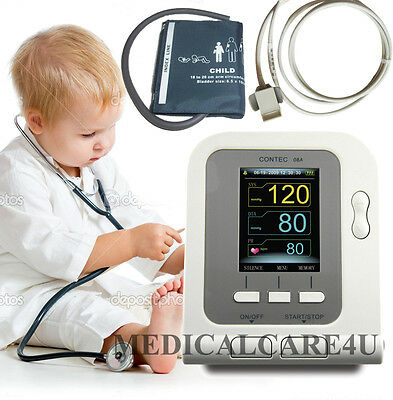 Child Blood pressure monitor NIBP Sphygmomanometer CONTEC08A +Child Spo2 PROBE