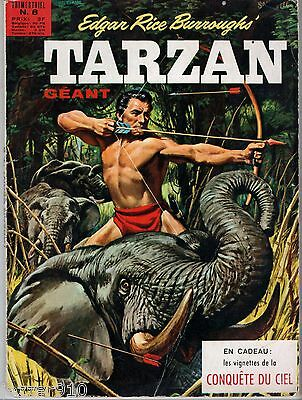 TARZAN GEANT n°8 ¤ 1971 SAGEDITION ¤ LA COLLINE ENCHANTEE