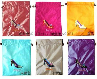 Wholesale10pcs Chinese Classic Embroiderd Silk Gift Bag Pouch Wallet Purse7.8*11