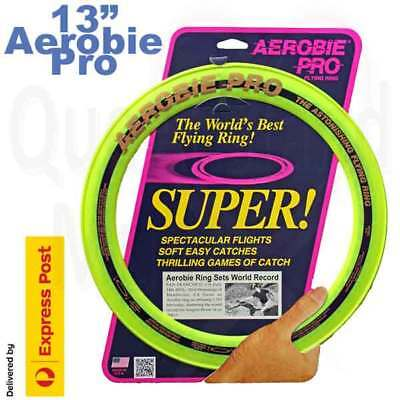Aerobie Yellow Pro 13 inch flying ring free shipping frisbee disc 33cm