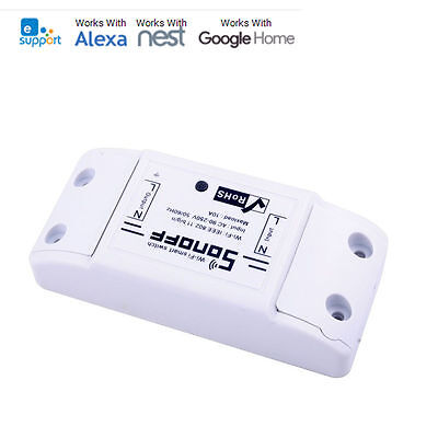 ITEAD Sonoff Basic- Wireless Smart WiFi Switch Module DIY Home Apple Android APP