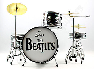 Miniature Drum Kit Set THE BEATLES. Ringo Starr