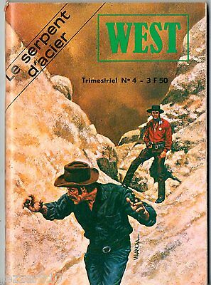 ~+~ WEST  n°4 ~+~ BUFFALO BILL - jeunesse & vacances 1978