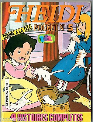 ¤ HEIDI POCKET n°5 ¤ 1980 EDITIONS JUNIORS TF1