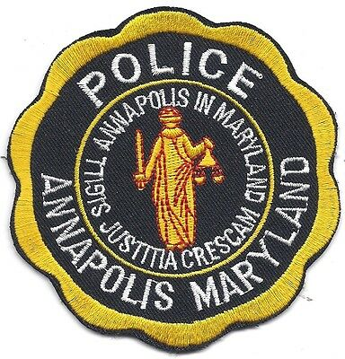 Unknown State Patches Police Historical Memorabilia
