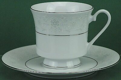 Sea Gull Fine China, SGU2 Pattern, Footed Cup & Saucer Set - [1215-0015]