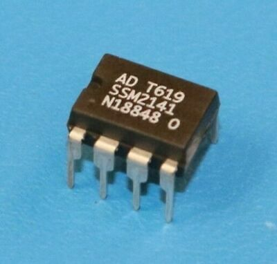 ANALOG DEVICES SSM2141P 8 PIN Integrated Circuit New Lot Quantity-5