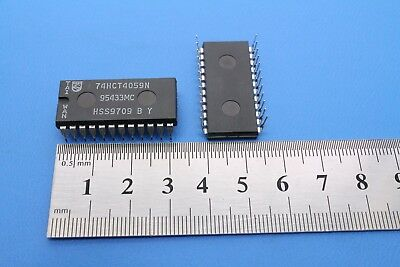 PHILIPS 74HCT4059N 24-Pin DIP Integrated Circuit New Lot Quantity-5