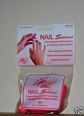 Nail Savers Nailsavers Tanning Spray Tan Protection Blocks Uv Rays Fingernails