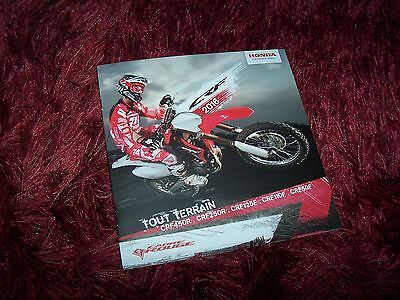 Catalogue /  Brochure HONDA CRF 2016 //