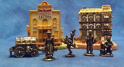 Lot of 3 Liberty Falls The Americana Collection Buildings with Boxes