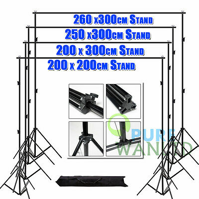 Photography Studio Background Support Backdrop Stand Kit Photo Light Screen