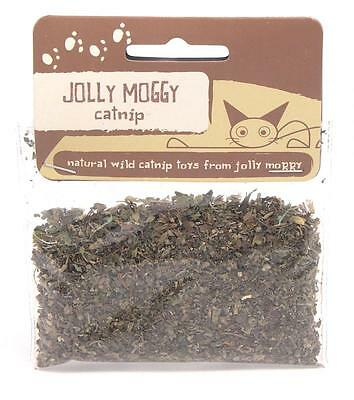 Jolly Moggy Natural Wild Catnip 10g For Cat Toys and Cat Scratchers