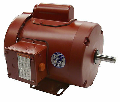 1 HP 1725RPM 56 Frame 115/230V TEFC Leeson Electric Motor ~NEW~*FREE SHIPPING*