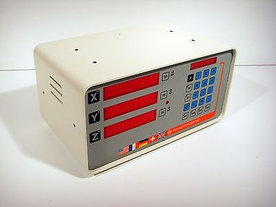 Metrologic IAD ME3005 3-Axis Digital Readout *EXCELLENT PULL*