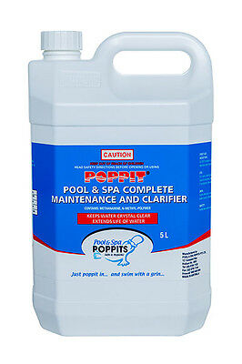 Poppit Complete Pool & Spa Maintenance 5L