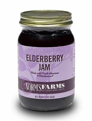 Norm's Farms Elderberry Jam  9 Ounce