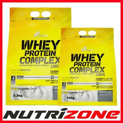 OLIMP Whey Protein Complex Pure WPC Amino Acids Mass Gainer Carbs BCAA WPI