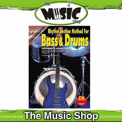 New Progressive Rhythm Section Method for Bass and Drums - Book & CD