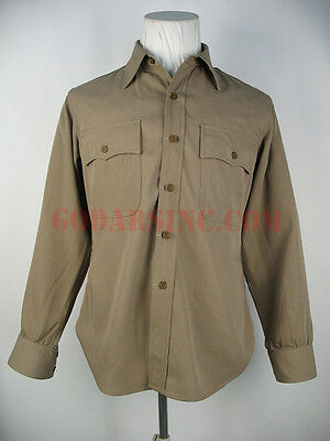 """WWII US Army Air Forces """"Pink"""" Regulation Shirt Size L"""