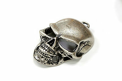 New Custom  Big Stainless Steel Skull Accessory part for Leather Craft.