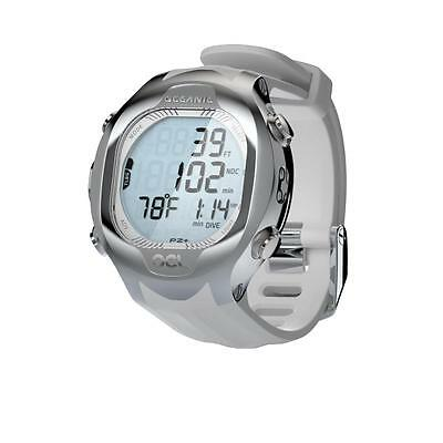 Oceanic OCL Scuba Watch Dive Computer - White/Seafoam