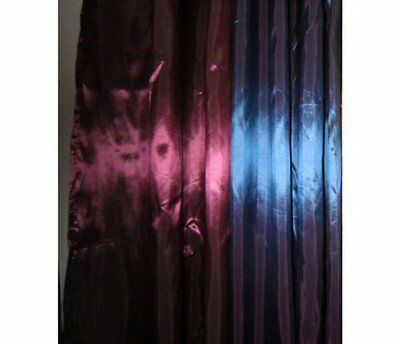 Lilac Satin Fabric Shower Curtain Free Shipping New