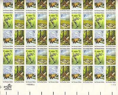 USA-United States 1981 18c Postage Wildlife Preservation Sheet Scot 1921-4 MNH