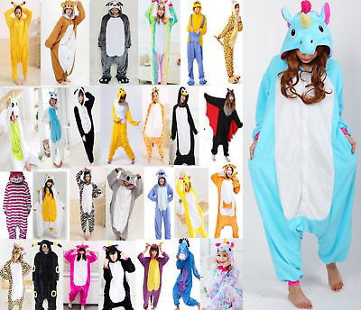 Pigiama kigurumi intero tuta carnevale feste animali zoo costume party Halloween