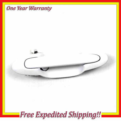 B4119 Outside Door Handle Rear Driver Left For 2000-2006 Mazda MPV Smooth Black