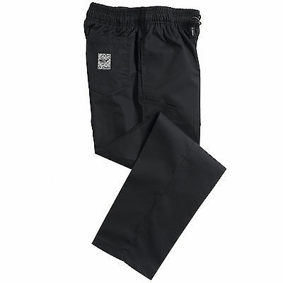 Le Chef  Professional  Black Chefs Pants Trousers  LC001