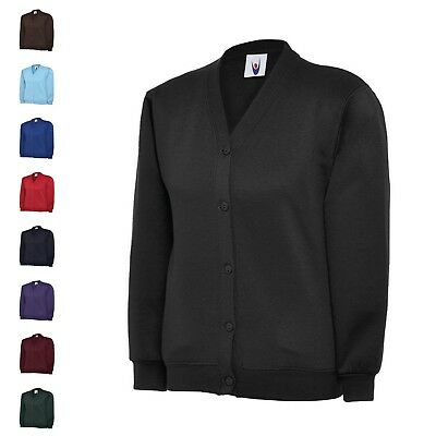 Uneek UC207 Childrens Cardigan ideal for school leisure or kids play