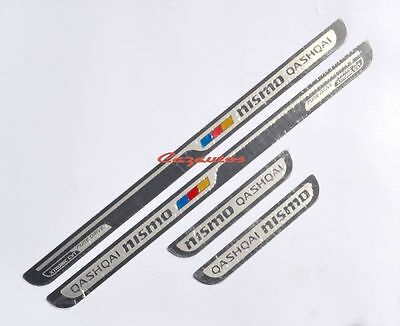 Stainless Steel Door Sill Scuff Plate For Nissan Qashqai 2013-2017