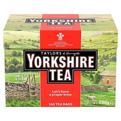 Taylors Yorkshire 160 Teabags 500G - Sold Worldwide from UK