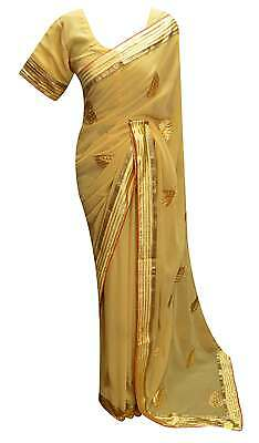 Indian traditional party wear border saree for Bollywood Online London UK 7231