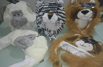 Animal Kids Hats 3D Perfect For Winter Girls & Boys