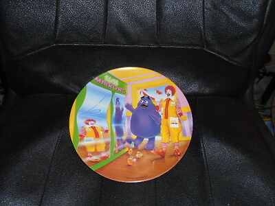 Vintage 1993 PMC McDonald's  Fun Mirrors Plate Grimace Ronald Nuggets