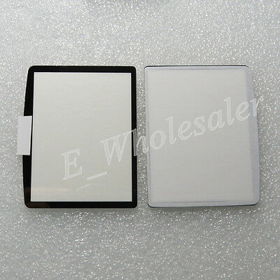 New Camera Part for Nikon D300 Outer LCD Screen Window Glass Display Repair+Tape