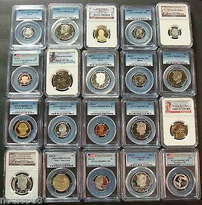 One Graded Deep Cameo Proof-69 Ngc Or Pcgs Pulled At Random Silver Every 5 Coins