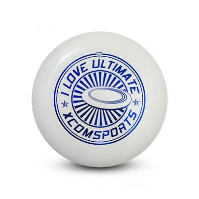 Professional 175G PE Ultimate Disc Frisbee Flying Disc Trainning Game White