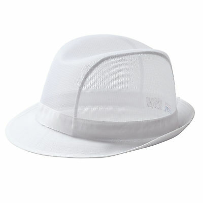 Portwest White Trilby Hat For Kitchen Catering Butchers Baker C600