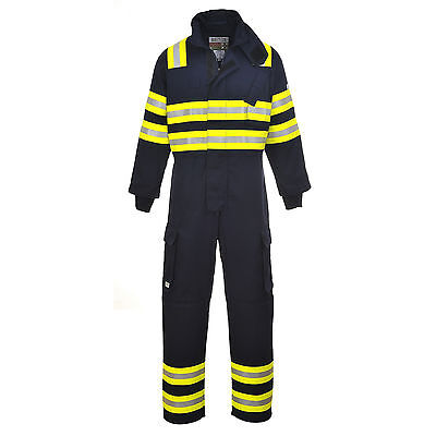 Portwest Wildland Flame Resistant Fire Work Coverall Boilersuit FR98